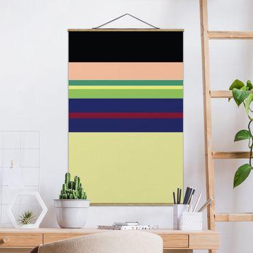 Foto su tessuto da parete con bastone - Film Poster Mulan - Verticale 3:2