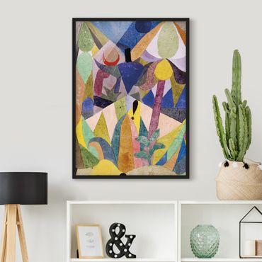 Poster con cornice - Paul Klee - Mild Tropical Landscape - Verticale 4:3