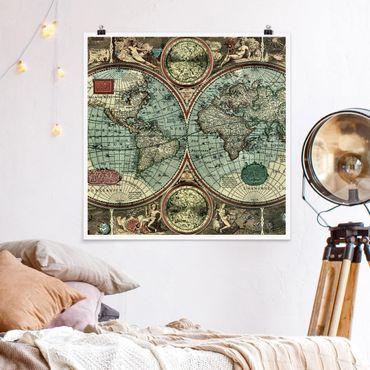 Poster - Il Vecchio Mondo - Quadrato 1:1
