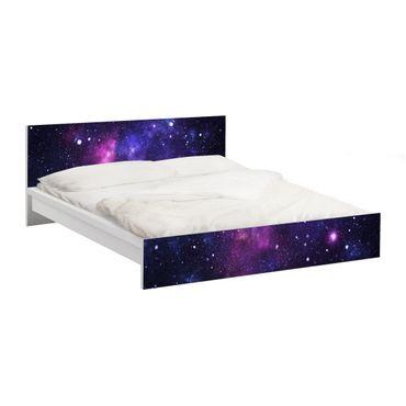 Carta adesiva per mobili IKEA - Malm Letto basso 180x200cm Galaxy