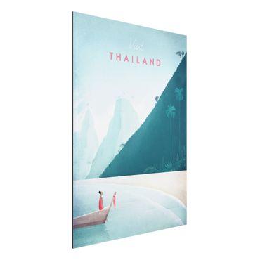 Stampa su alluminio - Poster Viaggio - Thailandia - Verticale 4:3
