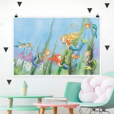 Poster - Matilda La principessa sirena - Orizzontale 2:3