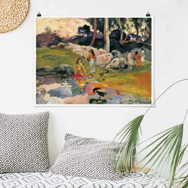 Poster - Paul Gauguin - Riverside - Orizzontale 3:4