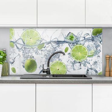 Paraschizzi in vetro - Refreshing lime