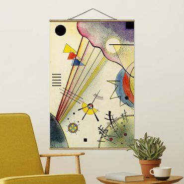 Foto su tessuto da parete con bastone - Wassily Kandinsky - Collegamento Significativo - Verticale 3:2