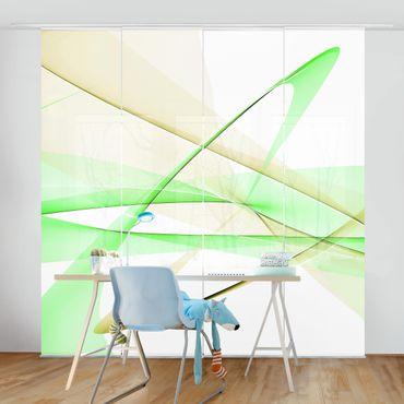 Tende scorrevoli set - Transparent Waves