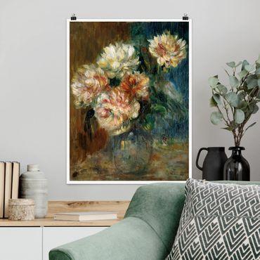 Poster - Auguste Renoir - Peonie Vaso - Verticale 4:3
