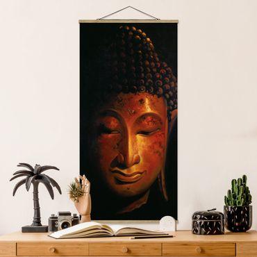 Foto su tessuto da parete con bastone - Madras Buddha - Verticale 2:1