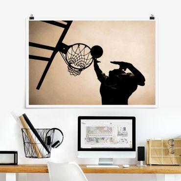 Poster - pallacanestro - Orizzontale 2:3