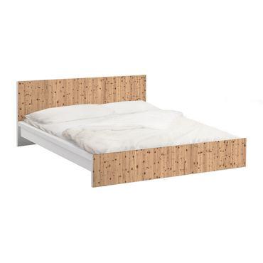 Carta adesiva per mobili IKEA - Malm Letto basso 140x200cm Antique Whitewood