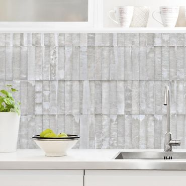 Rivestimento cucina - Cemento in mattonelle