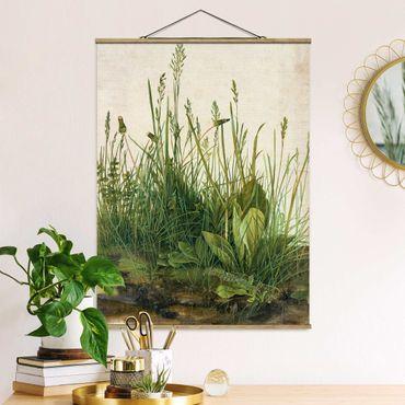 Foto su tessuto da parete con bastone - Albrecht Durer - The Great Lawn - Verticale 4:3