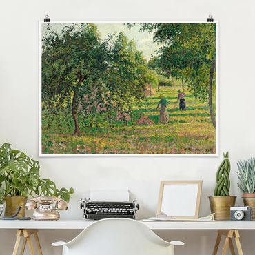 Poster - Camille Pissarro - Apple Trees - Orizzontale 3:4