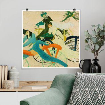 Poster - Lyonel Feininger - auto usate Driver - Quadrato 1:1