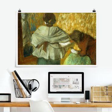 Poster - Edgar Degas - Milliner - Orizzontale 2:3
