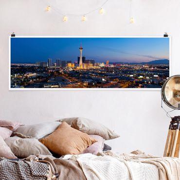Poster - Viva Las Vegas - Panorama formato orizzontale