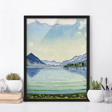 Poster con cornice - Ferdinand Hodler - Thunersee Of Leissigen - Verticale 4:3