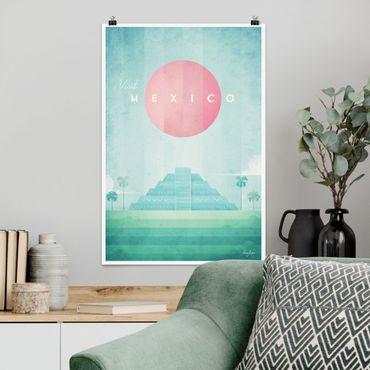 Poster - Poster di viaggio - Messico - Verticale 3:2