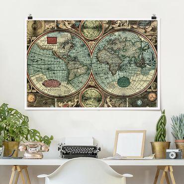Poster - Il Vecchio Mondo - Orizzontale 2:3