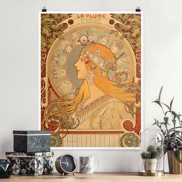 Poster - Alfons Mucha - Segni dello zodiaco - Verticale 4:3