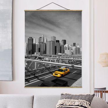Foto su tessuto da parete con bastone - Taxi Trip To The Other Side - Verticale 4:3