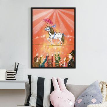Poster con cornice - Circus Pony Micki - Verticale 4:3