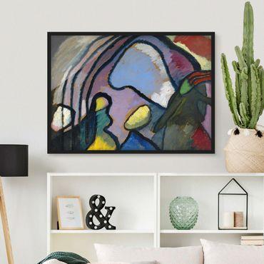 Poster con cornice - Wassily Kandinsky - Improvisation - Orizzontale 3:4