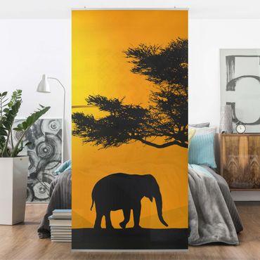 Tenda a pannello African Elephant Walk 250x120cm
