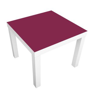 Carta adesiva per mobili IKEA - Lack Tavolino Colour Red Wine