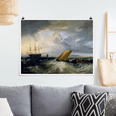 Poster - William Turner - Sheerness - Orizzontale 3:4