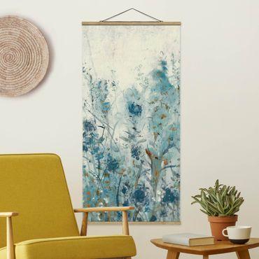 Foto su tessuto da parete con bastone - Blue Spring Meadow II - Verticale 2:1