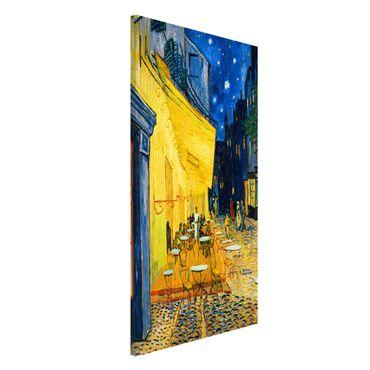 Lavagna magnetica - Vincent Van Gogh - Terrazza del caffe ad Arles - Formato verticale 4:3