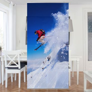 Tenda a pannello Ski Jump at the Slopes 250x120cm