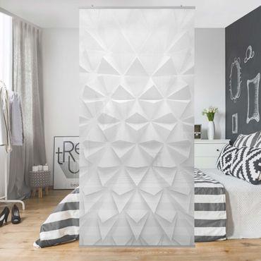 Tenda a pannello - Geometric Pattern 3D Effect - 250x120cm