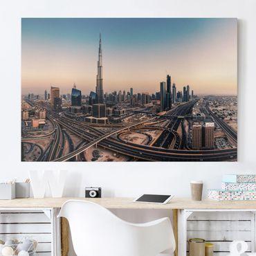 Stampa su tela - Serata A Dubai - Orizzontale 3:2