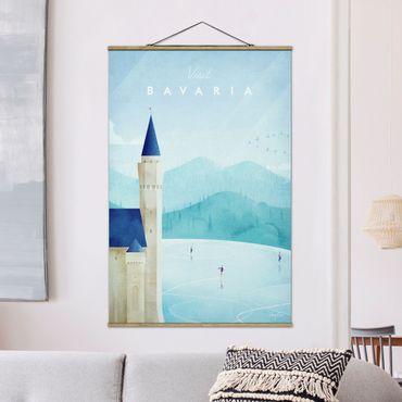 Foto su tessuto da parete con bastone - Poster TRAVEL - Baviera - Verticale 3:2
