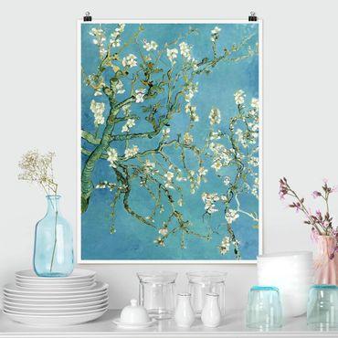 Poster - Vincent Van Gogh - Mandorlo in Fiore - Verticale 4:3