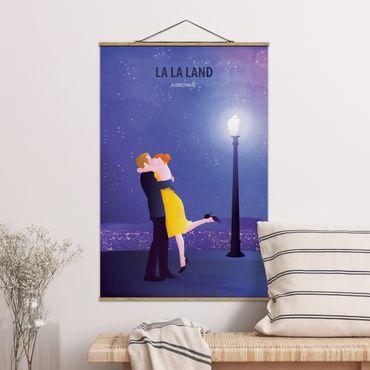 Foto su tessuto da parete con bastone - Locandina cinematografica La La Land II - Verticale 3:2