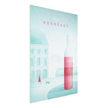 Stampa su Forex - Poster viaggio - Bordeaux - Verticale 4:3