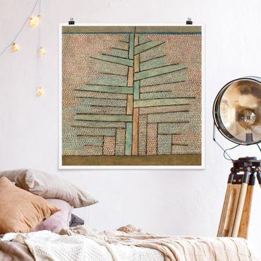 Poster - Paul Klee - Kiefer - Quadrato 1:1