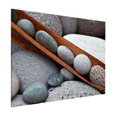Lavagna magnetica - Ancora Vita Con Grey Stones - Formato orizzontale 3:4