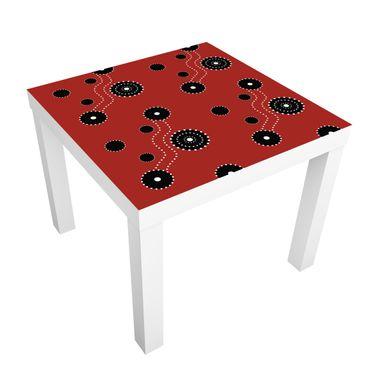 Carta adesiva per mobili IKEA - Lack Tavolino Aboriginal Ornament