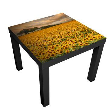 Tavolino design Field With Sunflowers