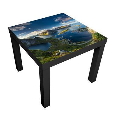Tavolino design Fjord In Reinebringen