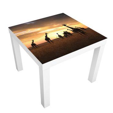 Tavolino design Giraffe Family