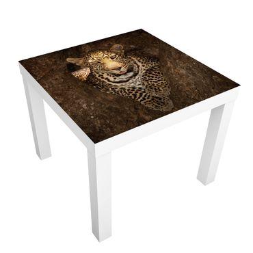Tavolino design Leopard Resting On A Tree