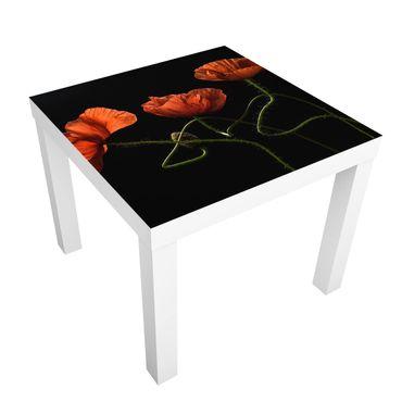 Tavolino design Poppies At Midnight