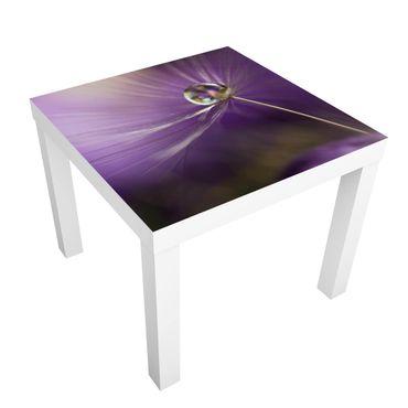 Tavolino design Dandelion In Violet