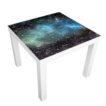 Tavolino design Constellations Map Galaxy Fog