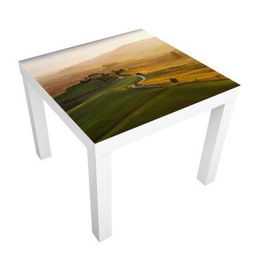 Tavolino design Val D'Orcia